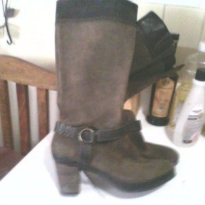 CLARK'S LEATHER AND BUCKSKIN BOOTS